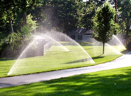 sprinkler start-up and fall blow-outs